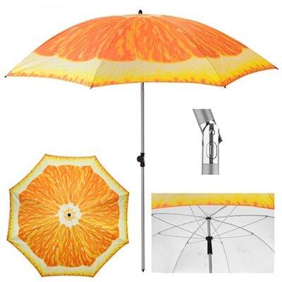Зонт пляжный Апельсин d2м наклон MH-3371-5