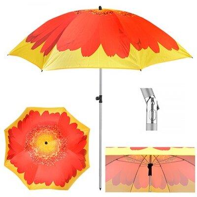 Зонт пляжный Гербера d2м наклон MH-3371-9