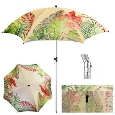 Зонт пляжный Монстера d2м наклон MH-3371-11