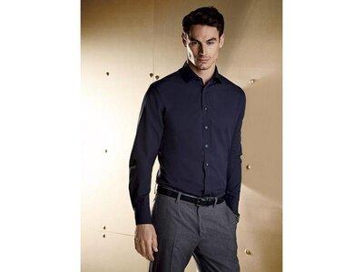 Мужская деловая хлопковая рубашка Livergy евро 40