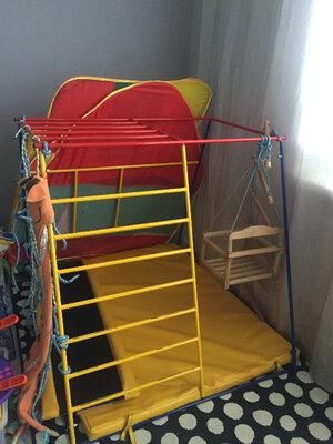 Продано: Развивающий комплекс б/у в отличном состоянии для ребенка от 5 месяцев до 4 лет