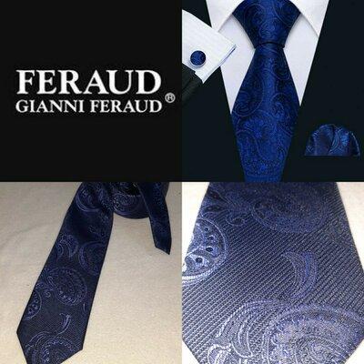 Шёлковый галстук Jianni Feraud Италия