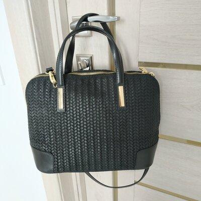 Продано: Кожаная стильная женская новая сумка производства Италия