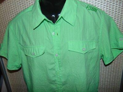 Стильная нарядная брендовая шведка рубашка .Fishbone. s-m