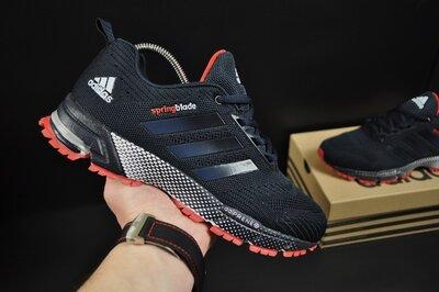 Кроссовки мужские Adidas Springblade, темно синие, текстиль