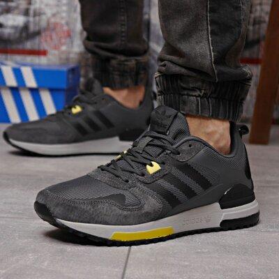 Кроссовки мужские Adidas Zx 700 HO, темно-серые