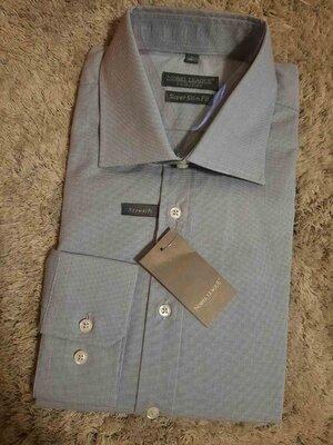 Nobel League мужская бизнес рубашка Super Slim Fit Германия