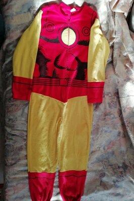 Карнавальный костюм слип Железный человек размер L