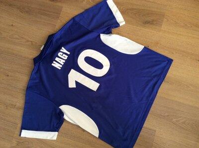 Футбольная футболка ADIDAS CHAMPIONS LEAGUE 10 NAGY оригинал р XL винтаж 2002 г