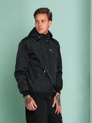 Мужская куртка ветровка из плащевой ткани с подкладкой размеры от 48 до 58