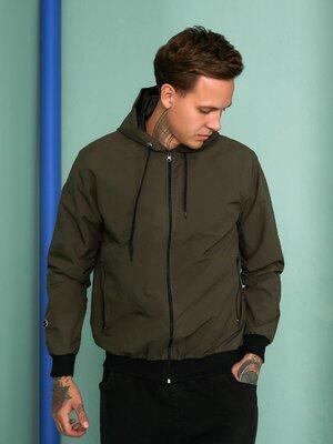 Мужская демисезонная куртка ветровка на подкладе, цвета, размеры