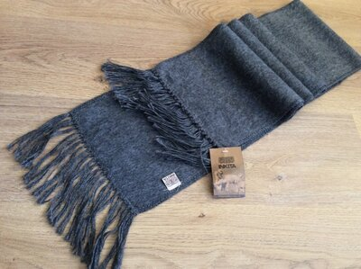 Новый шарф INKITA шерсть бирка 25 alpaca yam/75 andean wool