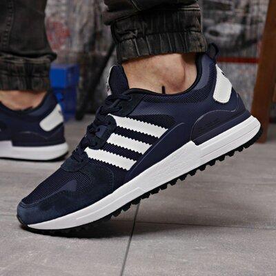 Кроссовки мужские Adidas Zx 700 HO, темно синие