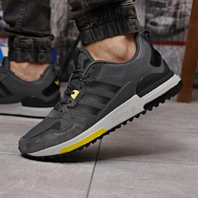Кроссовки мужские Adidas Zx 700 HO, темно серые