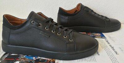 Туфли мужские кожаные в спортивном стиле кеды Philipp Plein чёрные