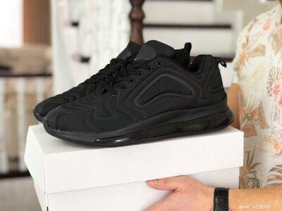 Max 720 кроссовки мужские демисезонные большие размеры черные 10309