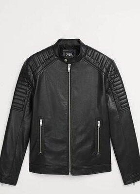 Байкерская куртка zara размер s