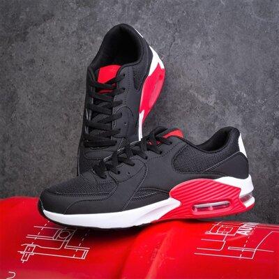 Кросівки чоловічі Рівал Кальвадос 87 чорно-червоні В01999