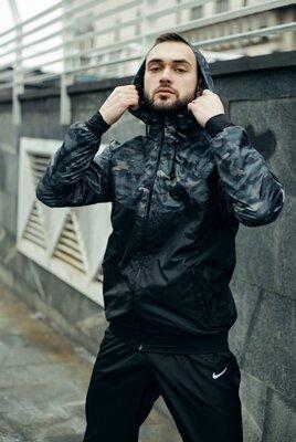 Непромокаемая ветровка Nike Windrunner Jacket высокого качества