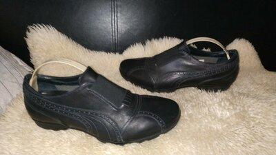 Puma 96 hours шкіряні туфлі кроссовки 41 р по ст 38 см ширина 9 см можуть бути унісекс
