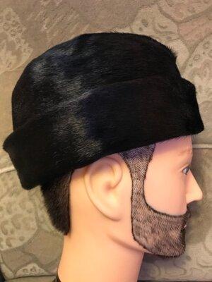 Зимова шапка з нерпи
