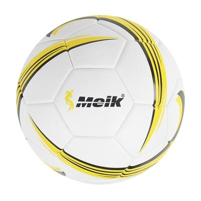 М'яч футбольний Meik жовтий C40046