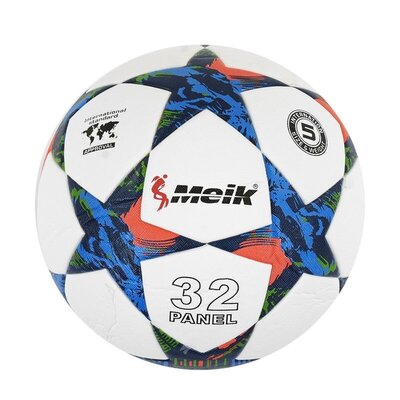 М'яч футбольний розмір 5, білий C40042