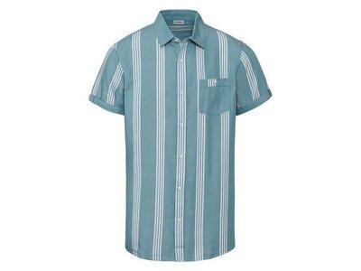 Мужская летняя рубашка тенниска из лиоцелла Livergy Германия, р. S 43/44