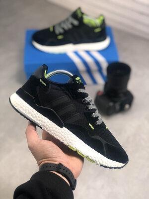 Adidas Nite Jogger Black Green