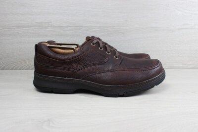 Кожаные туфли Clarks active air, размер 46