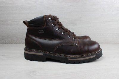 Кожаные ботинки Skechers оригинал, размер 45