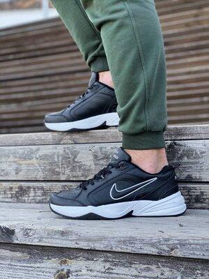 Мужские Кроссовки Nike Air Monarch Black AAA 41-42-43-44-45-46