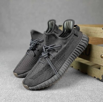 Чоловічі кросівки Adidas Yeezy Boost 350 41-45 Рефлективна полоса