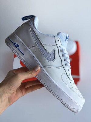 Nike Air Force 1 07 LV8 GS White Blue