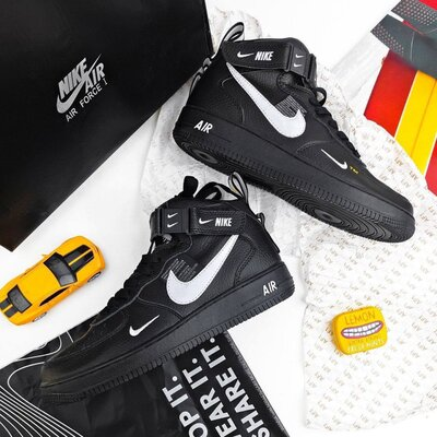 Nike Air Force 1 Utiliti High black