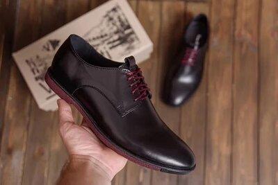 Мужские кожаные туфли VanKristi Код VK 500 кож 1130 грн В наличии 40,41,42,43,44,45 рр. Материал