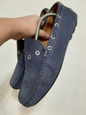 Мужские кроссовки мокасины stokton р. 44 28,5-29 см , италия, оригинал