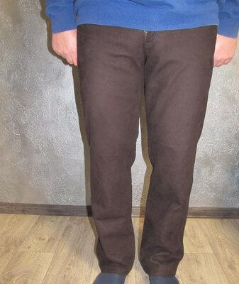 Кожаные брюки р. 50