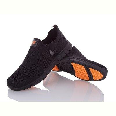 Легкие мужские кроссовки Nike без шнурков - Мега комфортные. 41-45р.