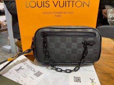 Сумка - барсетка Louis Vuitton Soft Trunk Mini Damier Infini
