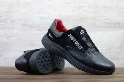 Мужские кожаные кроссовки Nike Ж-2