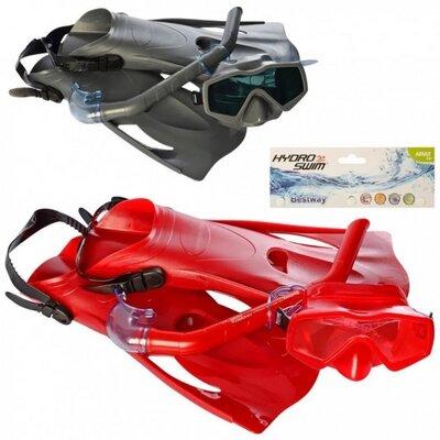 Набор для плавания 25031 , маска , трубка , ласты , размер 41-46