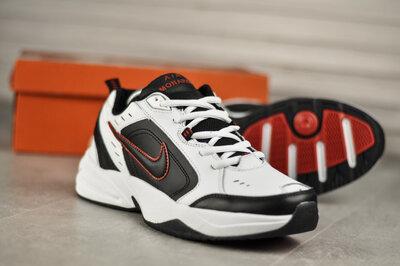 Nike Air Monarch Black Red White