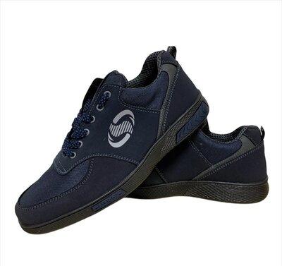 Кросівки чоловічі повсякденні сині Ск-3-4Ср