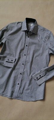 Брендовая рубашка barone на парня размер s