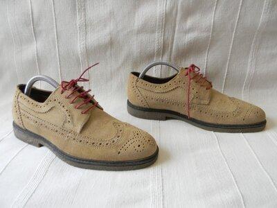 Замшевые туфли оксфорды RED TAPE р.41 ст.27,7см