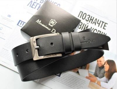 Мужской ремень Massimo Dutti для джинсов black