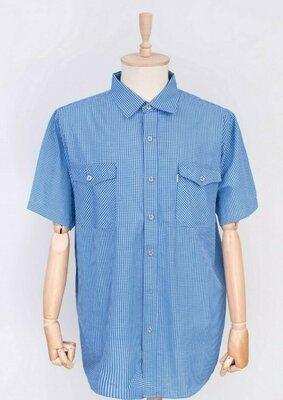 Мужская рубашка с коротким рукавом 6XL, 7XL, 8XL, 9XL, 10XL