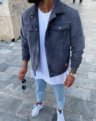 Укороченная вельветовая куртка 4 цвета