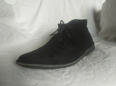 Замшевые Ботинки 43 р. 28,5 см по стельке. Индия